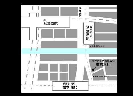 TOKYOアクセスマップ3
